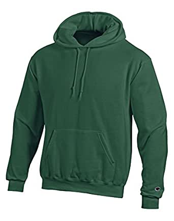 Champion Men's Front Pocket Pullover Hoodie Sweatshirt 深绿色 XXX-Large