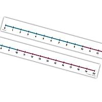 EAI 教育学生数字线(0 到 20):无粘性 - 12 件套