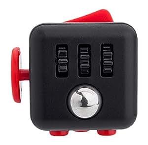 fidget Cube relieves 压力和 anxiety 儿童和成人 ( 红色 )