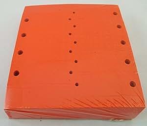 自锁箭头钥匙标签(每包 1 000)尺寸 11.43 厘米 X 1.91 厘米 橙色