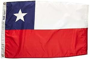 Annin Flagmakers 尼龙太阳能防护帽纽约热带智利国旗 2x3' 191619