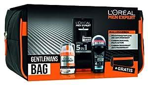 L 'Oréal Men Expert Gentleman 包水分身体霜,淋浴凝胶和香体滚入式清洗袋