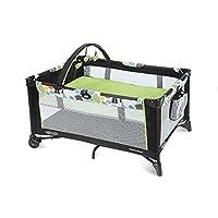 (跨境自营)(包税) GRACO 葛莱 多功能婴儿床摇篮床游戏床 绿色
