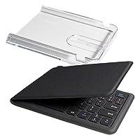 Owltech Bluetooth 折叠式人体工程学键盘 英语排列64键 附带*盒子兼具架 黑色 1年保修 OWL-BTKB6402-BKAMZ