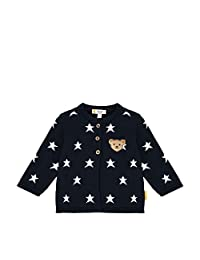 Steiff 女宝宝 带甜美泰迪熊装饰 针织夹克