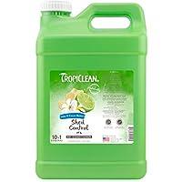 TropiClean 宠物青柠可油护发素,2.5 加仑,美国制造