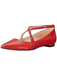 Nine West Anastagia Leather 尖头平底鞋