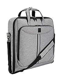 ZEGUR 西装手提包适合旅行和商务旅行 带肩带
