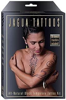 *美洲豹黑色临时纹身和身体绘画套件。 儿童*,美国制造。 Enough Jagua 凝胶,适合 12-15 设计和应用