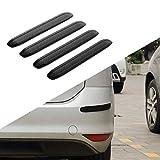 JoyTutus 汽车保险杠保护条橡胶防刮伤汽车 SUV 皮卡卡车保险杠保护器,4 件装