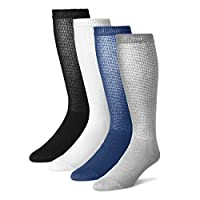 男士*小腿袜 - 12 双装 - 美国制造
