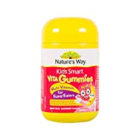 (跨境自营)(包税) Nature's Way佳思敏儿童多维素防挑食软糖60粒
