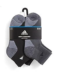 adidas 男式运动分袜子(6双装)