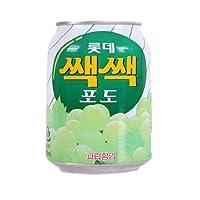 Lotte乐天粒粒葡萄汁饮料238ml*6(韩国进口)