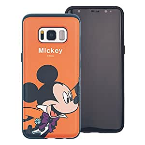 Galaxy S7 Case, DISNEY Cute Mickey Mouse Layered Hybrid [TPU + PC] Bumper Cover [Shock Absorption] for Samsung Galaxy S7 (5.1inch) - Festival Mickey Mouse