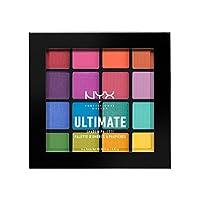 NYX 专业化妆眼影调色板,Brights,0.46盎司(13g)