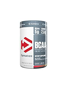 Dymatize BCAA Complex 5050 Powder, Cherry Limeade, 10.6 Ounces