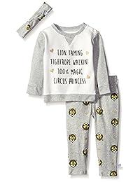 Rosie Pope 女婴狮子图案三件套套装