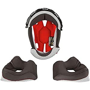 O'Neal 2 SRS 中性成人头盔衬垫和面颊垫(灰色,XS 码) XX-L 黑色 0200-906