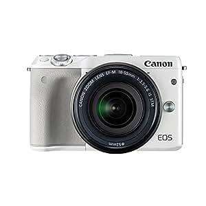 Canon/佳能 EOS M3套机(18-55mm)佳能单电微单相机 (白色M3 18-55官方标配)