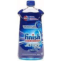 Finish Quantum 水洗辅助喷水干燥终极光泽,32液体盎司 盎司/946 毫升 – 315次洗涤