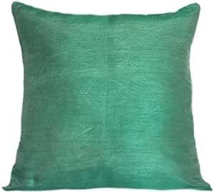 The White Petals 人造丝纯色枕套 2 件装 薄荷绿 26x26 inch COMIN18JU055662
