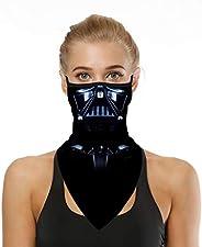 COOLINKO Star Galaxy 戰斗護頸面罩巴拉克拉法帽頭巾——輕盈透氣可水洗面罩,適用于防塵戶外*,男女通用,男女皆宜 (#02)