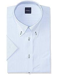 FLEXJAPAN 设计感衬衫 短袖 吸水速干易干 定型加工 DHSM70 男士