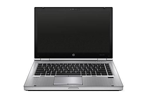 HP 惠普 Elitebook 8470p 35.56 厘米(14 英寸 高清)笔记本电脑 英特尔酷睿 i5 8 GB 500 GB 英特尔HD 4000 UMTS 蓝牙 指纹识别器 Windows 10 家庭版) 银色(经认证和翻新)