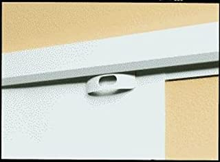 Legamaster 7-655600 Exporail 悬挂系统,纸张夹,6件,白色