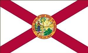Heath Outdoor Products 58036 5 英尺 乘以 8 英尺佛罗里达州旗