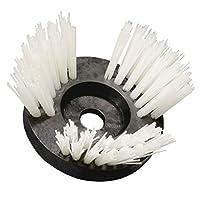 SIT Techno 刷直径 = 170 毫米尼龙草坪修剪刷,带适配器-CO170-Ø:170 毫米,黑色和白色