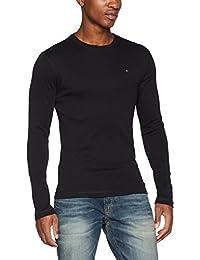 TOMMY 牛仔裤男式 TJM 原装罗纹长袖 T恤长袖上衣