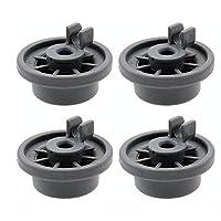 165314 洗碗机下架轮替换件适用于博世和Kenmore(4 件装)