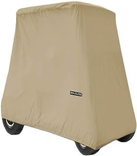 """Goldline Universal Slip-On 4 Passenger Golf Cart Cover 106""""L x 48""""W x 62""""H - Khaki"""