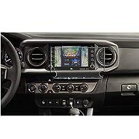 SATIS 高级屏幕保护膜 兼容 2020 丰田塔科马 8 英寸触摸屏防眩光防刮指纹导航保护钢化玻璃