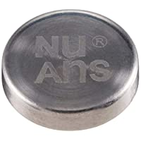 【正规代理店商品】 NuAns MAGDOT 电缆夹 3个套装 银色 NA-MAGDOT-SL