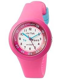 CACTUS 儿童手表 10气压防水 粉色 CAC-92-M55 女孩 【正规进口商品】