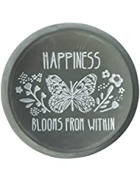 Pavilion Gift Company Happiness Blooms from Within Keepsake Dish