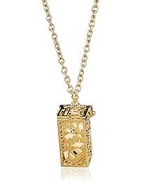 Vivienne Westwood 英国品牌 HENDRIX系列 吊坠项链 金铜色BP1195/1