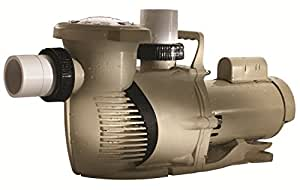 Pentair 022019 WhisperFloXF 高性能超负荷水池泵,5 马力,208-230/460 伏,3 相,TEFC 电机