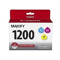canonink maxify pgi-1200 3 色多包裝墨水