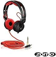Zomo 连接线 DeLuxe HD 25 螺旋 3.5 米 (40180-CRD35) 红色