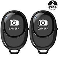 TMANGO 新款无线相机遥控照片/视频快门适用于 iPhone 12 11 XR XS Max X 8 7 iPad 三星 S10 S9 S8 Note10 Note9 / Android 智能手机平板电脑(iOS 和 Android)P1