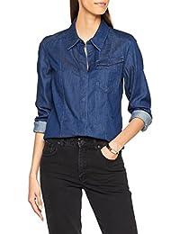 G-STAR RAW 女式 Tacoma 经典款 Wmn L/S 衬衫