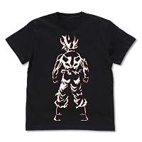 龙珠超 悟空的背部T恤 黑色 L尺寸