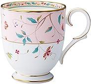 Noritake 马克杯 320立方厘米 花更纱 粉色 骨瓷 T50755A/4409-5