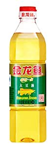 金龙鱼 精炼一级大豆油900ml(亚马逊自营商品, 由供应商配送)