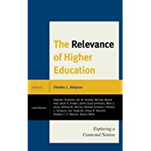 The Relevance of Higher Education: Exploring a Contested Notion (English Edition)