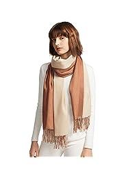 温暖围巾和披肩两用羊绒女式女孩